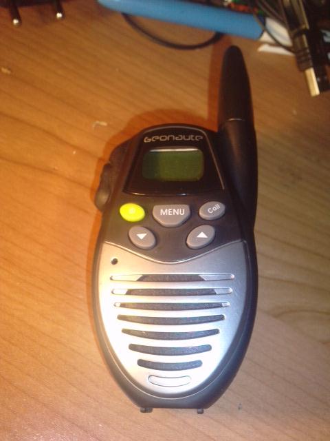 kit oreillette et micro pour talkie walkie geonaute fx26a. Black Bedroom Furniture Sets. Home Design Ideas