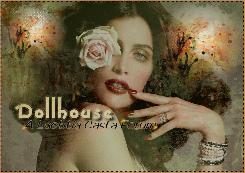 ~Dollhouse~  Un-official forum for the French model & actress Laetitia Casta