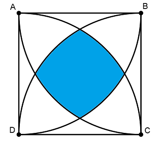 comment calculer un quart de cercle