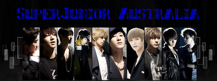 SUPER JUNIOR AUSTRALIA FORUM