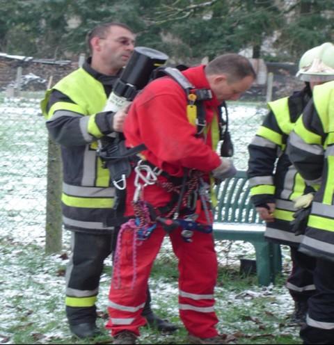 Les pompiers s'équipent