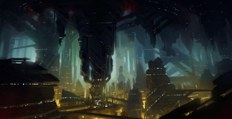 underground cities fantasy