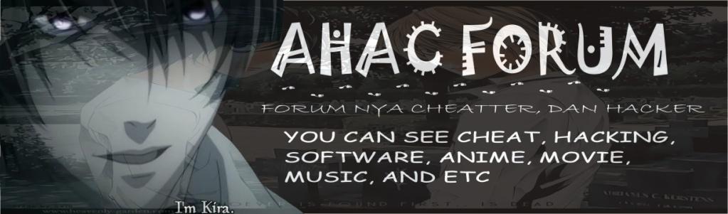 AHAC FORUM
