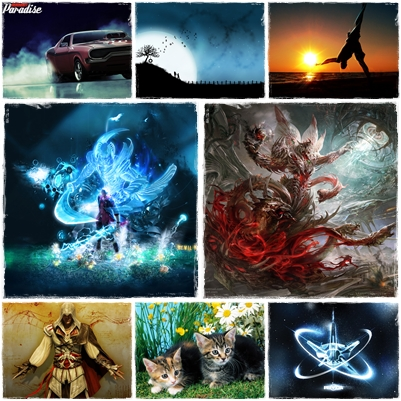 Best Mixed Wallpapers Pack