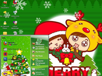 Xmax2010 - Christmas Theme for XP