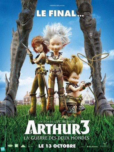 Arthur 3 The War of the Two Worlds (2010)  DVDRip XviD AC3-TiMPE