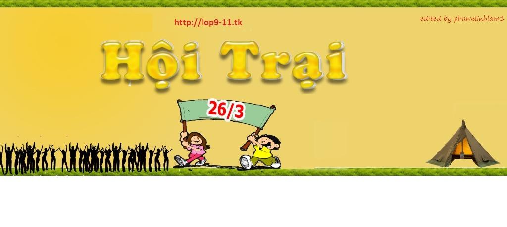 4rum 9/11 - THCS Thái Nguyên