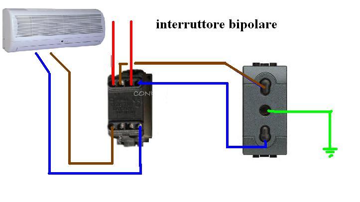 Interruttori a monte di due climatizzatori in standby altro su impianti elettrici civili plc - Come funziona lo scaldabagno elettrico ...
