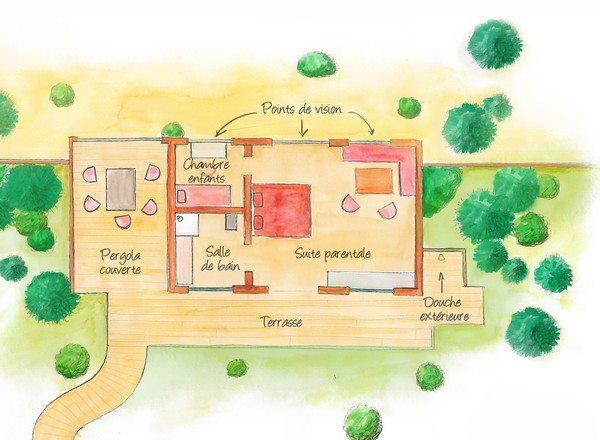 lodge zoo de la fleche. Black Bedroom Furniture Sets. Home Design Ideas
