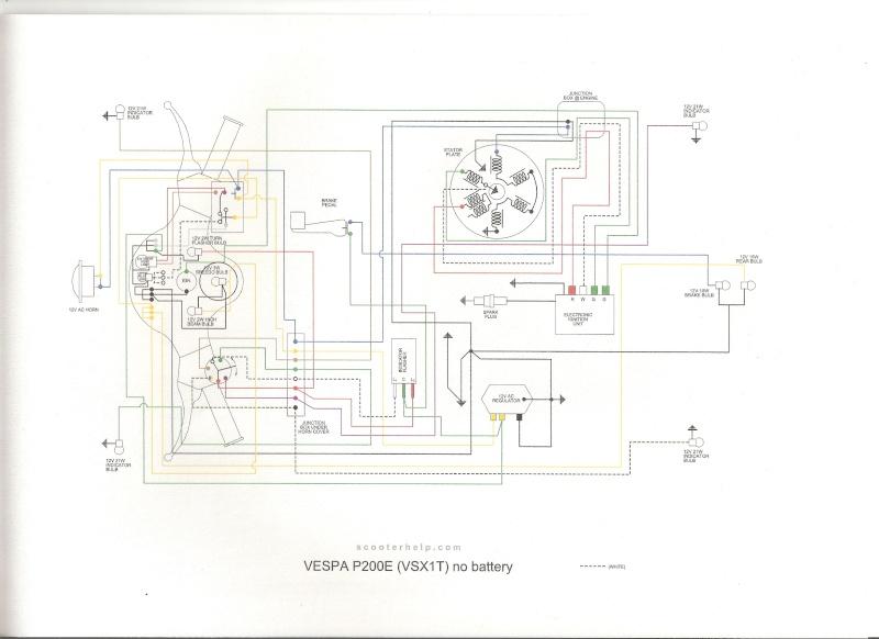 shema electrique px 80